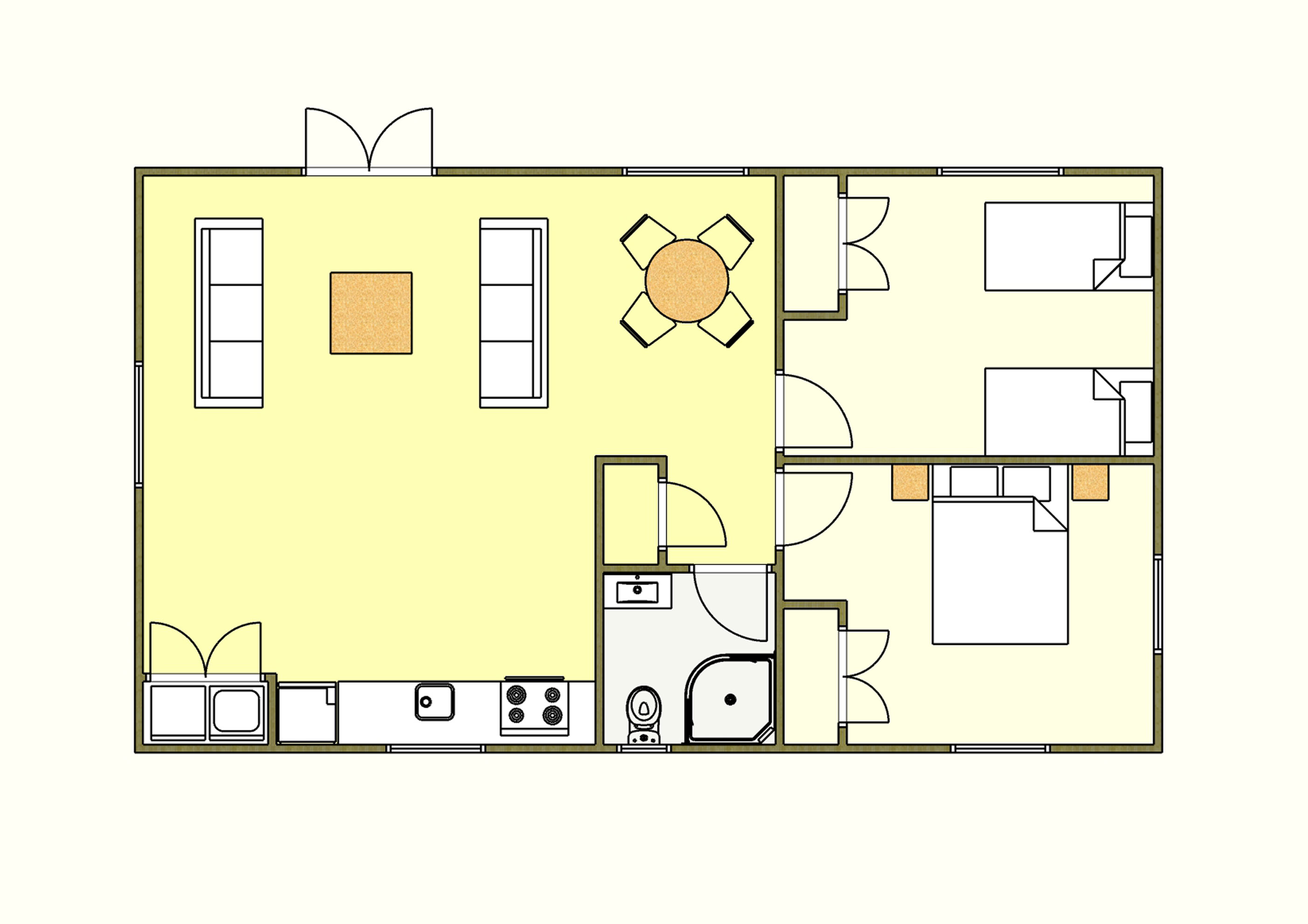 Ivy - 2 Bedroom
